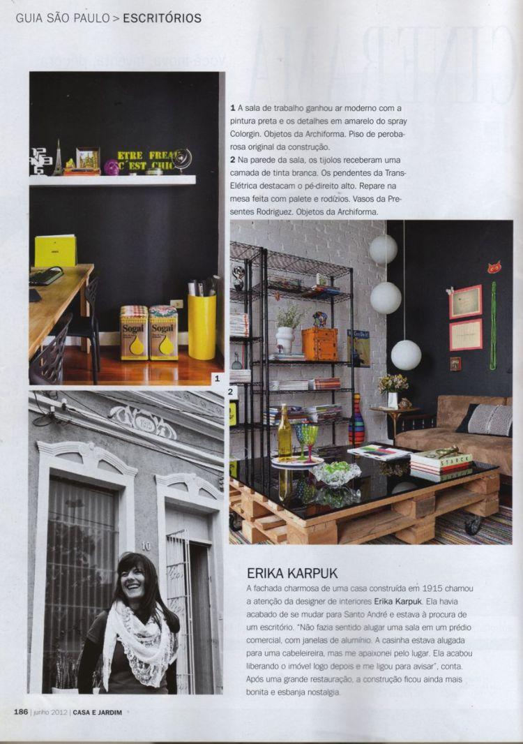 Estúdio Dekor e Erika Karpuk para Casa e Jardim