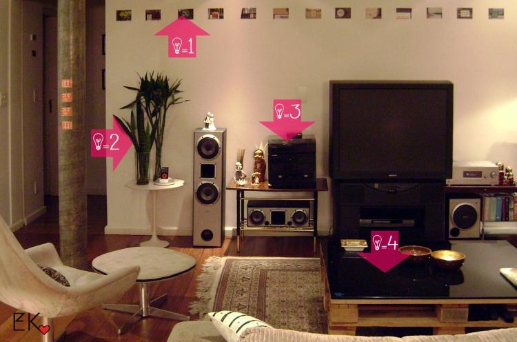 Dicas para decorar a primeira sala