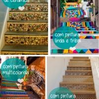 Escada sem revestimento! O que fazer?