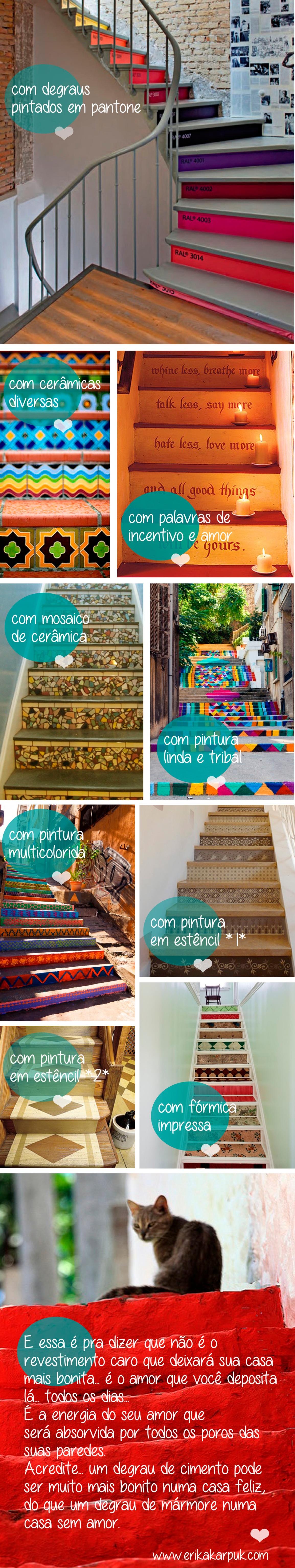 escadas sem revestimento
