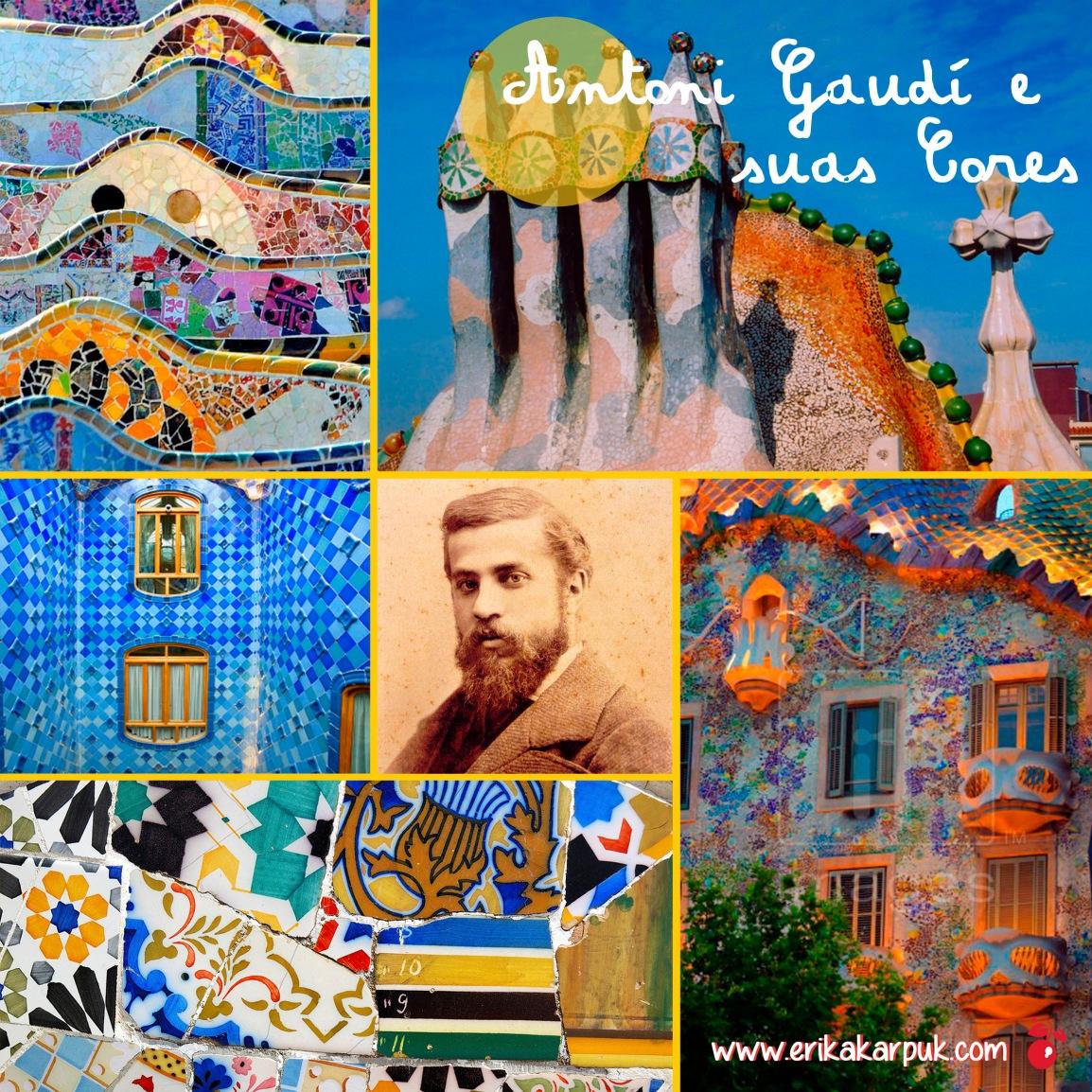 Gaudi e suas cores By Erika Karpuk