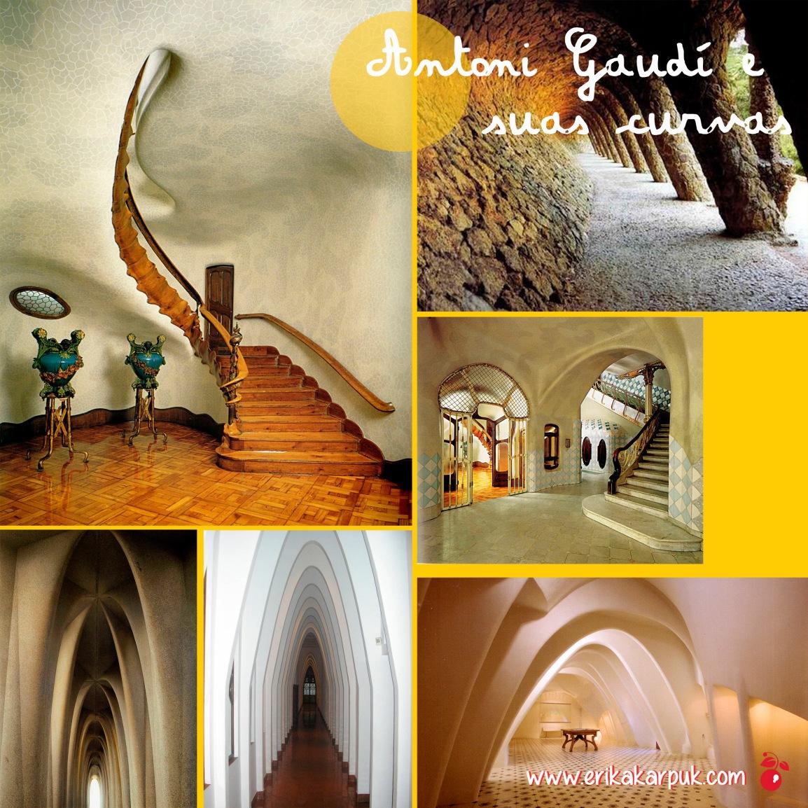 Gaudi e suas curvas By Erika Karpuk