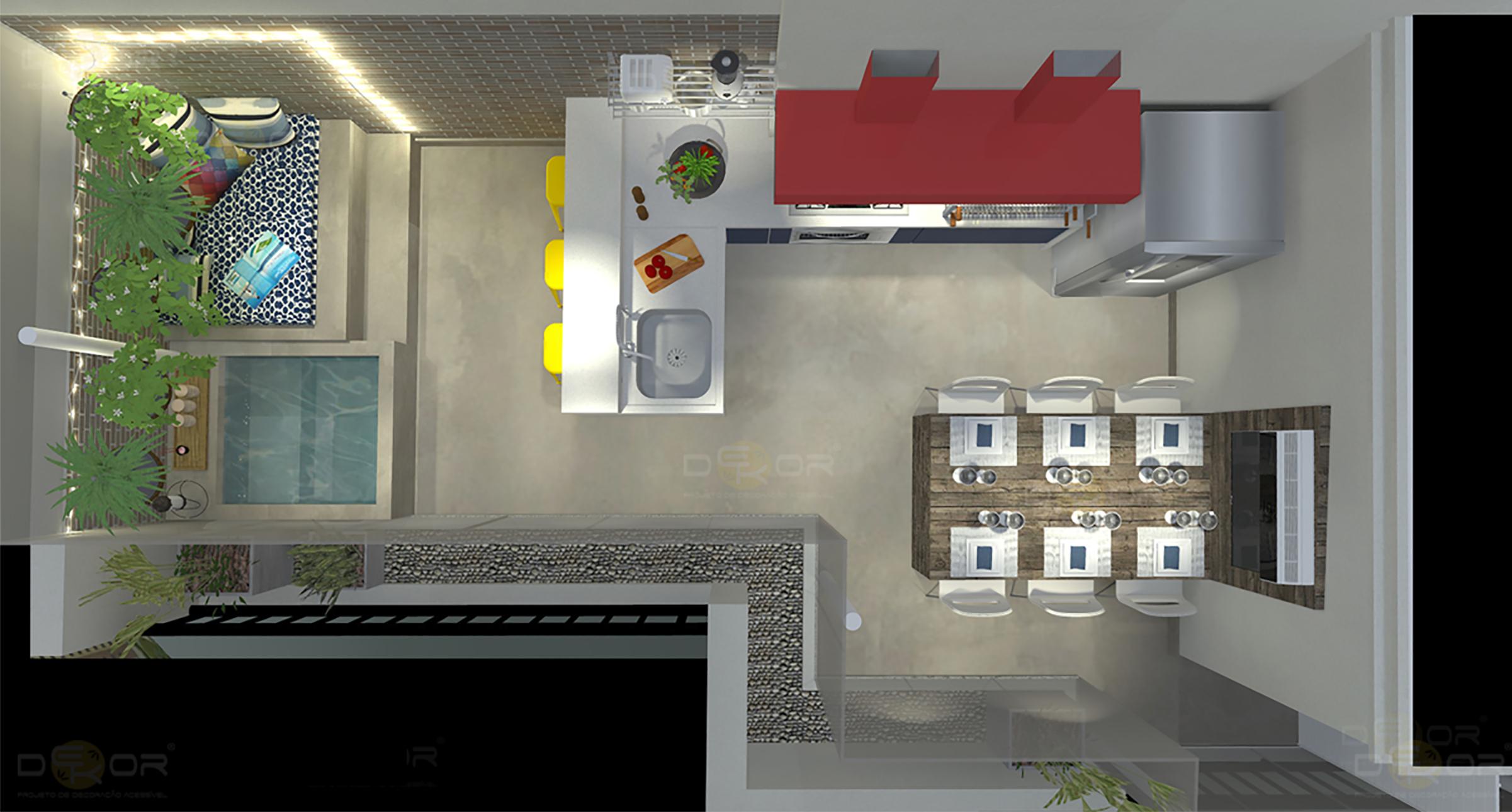 19/12/2013 2402 × 1290 Projeto de Cozinha – Decoração Online  #793535 2402 1290