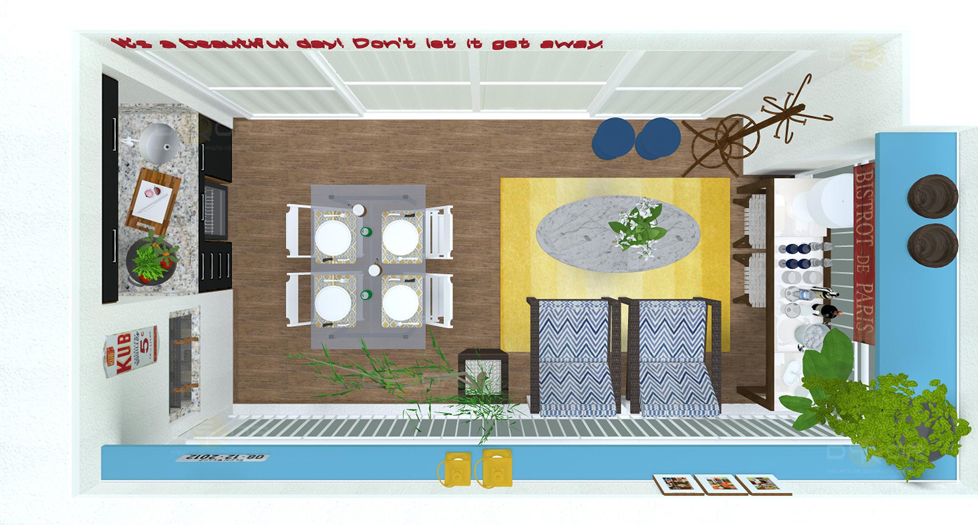 28/01/2014 2002 × 1075 Projeto de Varanda – Decoração Online  #A98C22 2002 1075