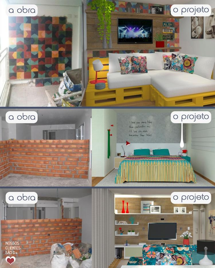 Projeto de decoração On-line - DEKor Erika Karpuk