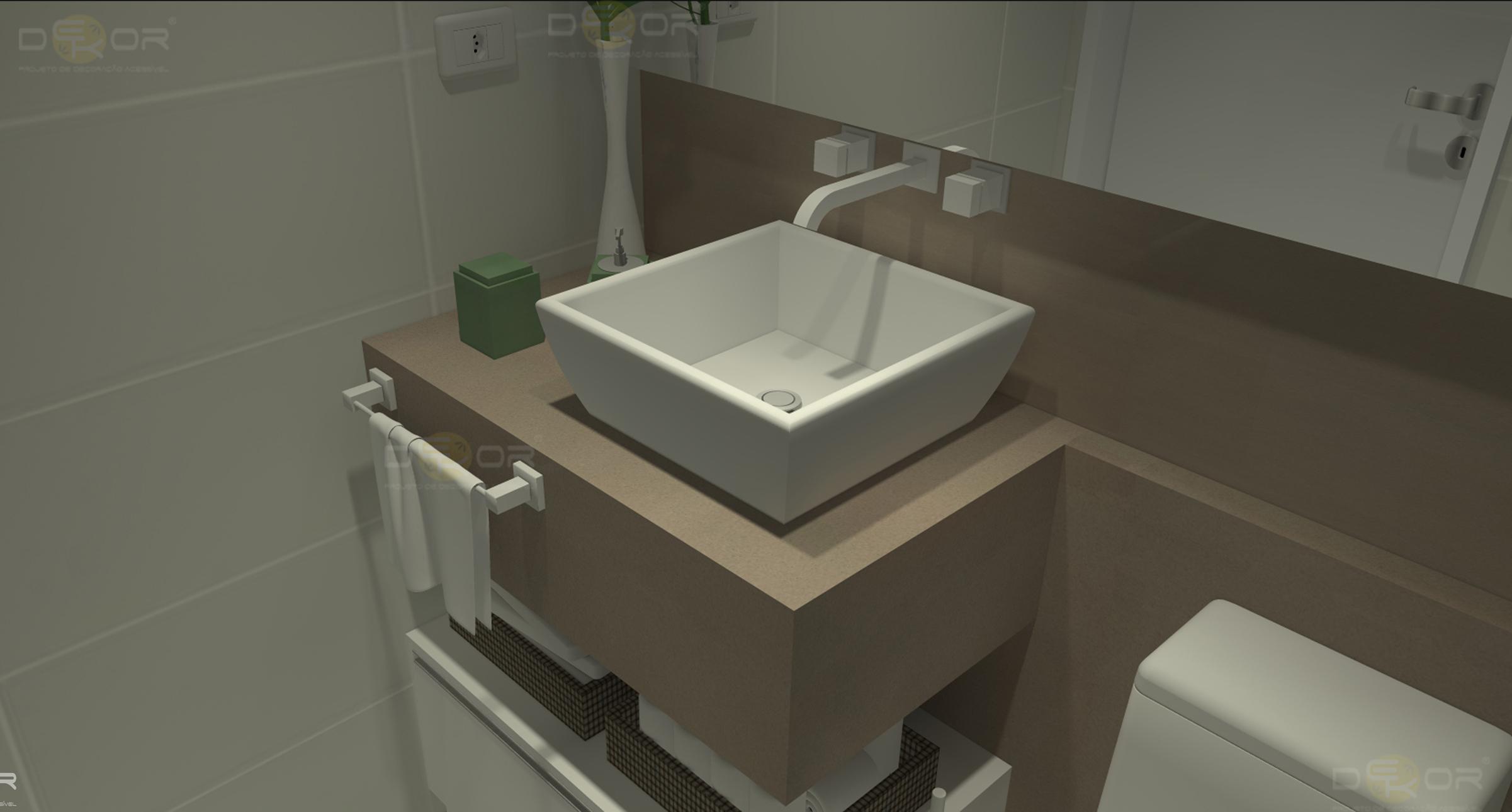 Projeto de Banheiro – Decoração Online #21 Erika Karpuk #7A7851 2402 1290