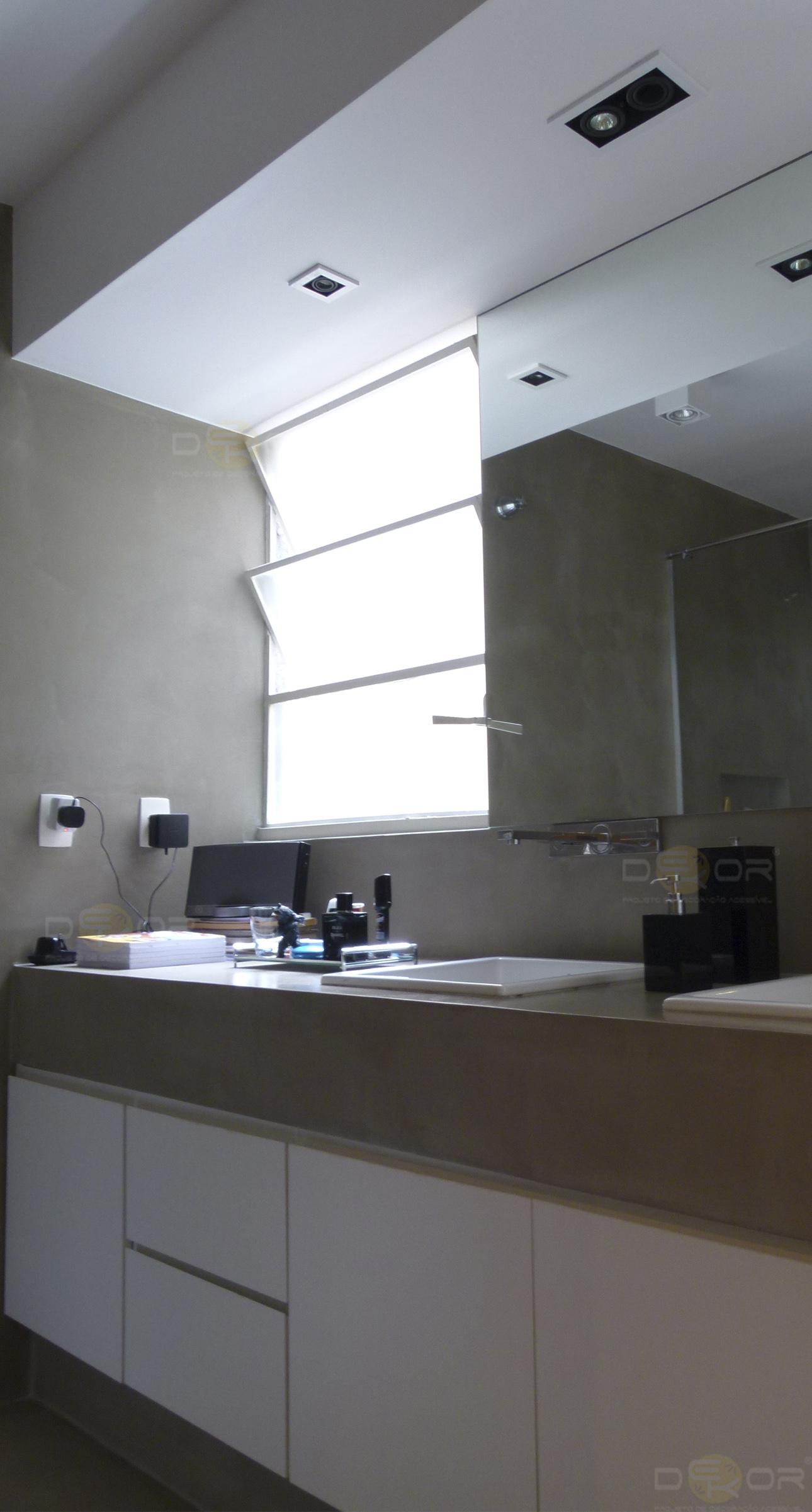 Projeto de Banheiro – Decoração Online #29  ErikaKarpuk  EstúdioDekor  Des -> Decoracao De Banheiro Sustentavel