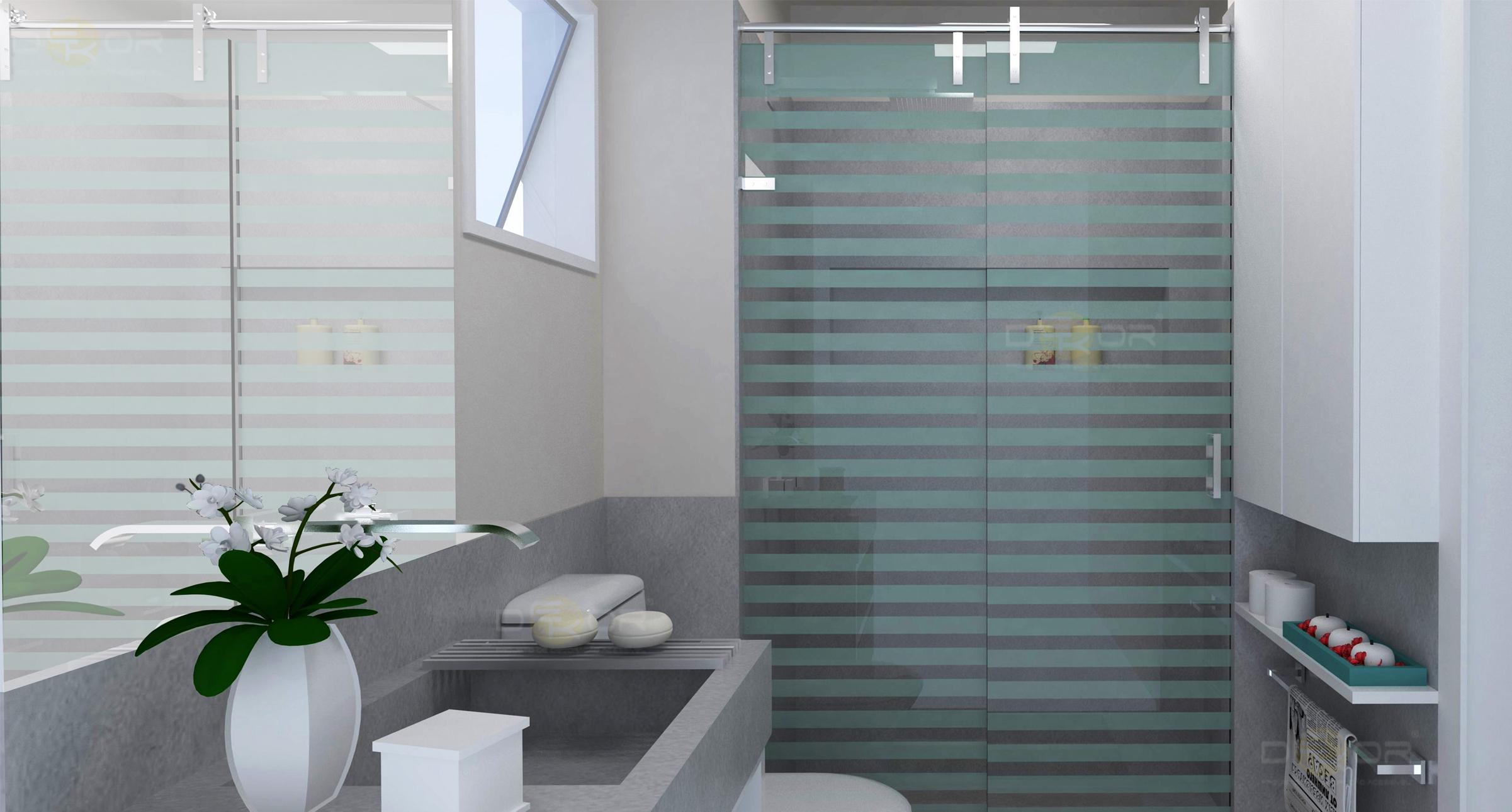 Projeto de Banheiro – Decoração Online #3 Erika Karpuk #475A4E 2402 1290