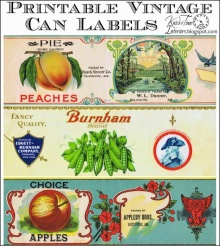 Rótulos Vintage - Vintage Grocery Can Labels (1)