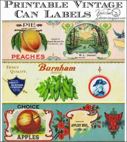 Rótulos Vintage - Vintage Grocery Can Labels (1)