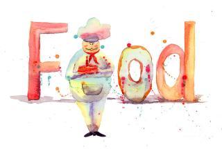 watercolor-illustration-of-inscription-food-with-chef-regina-jershova