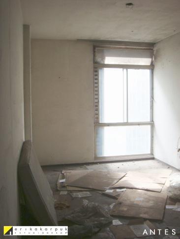 Dormitório. ANTES da reforma. Projeto Erika Karpuk