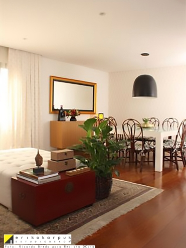 Sala de Jantar - Projeto Erika Karpuk