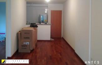 apartamento descolado antes 3 SP projeto Erika Karpuk