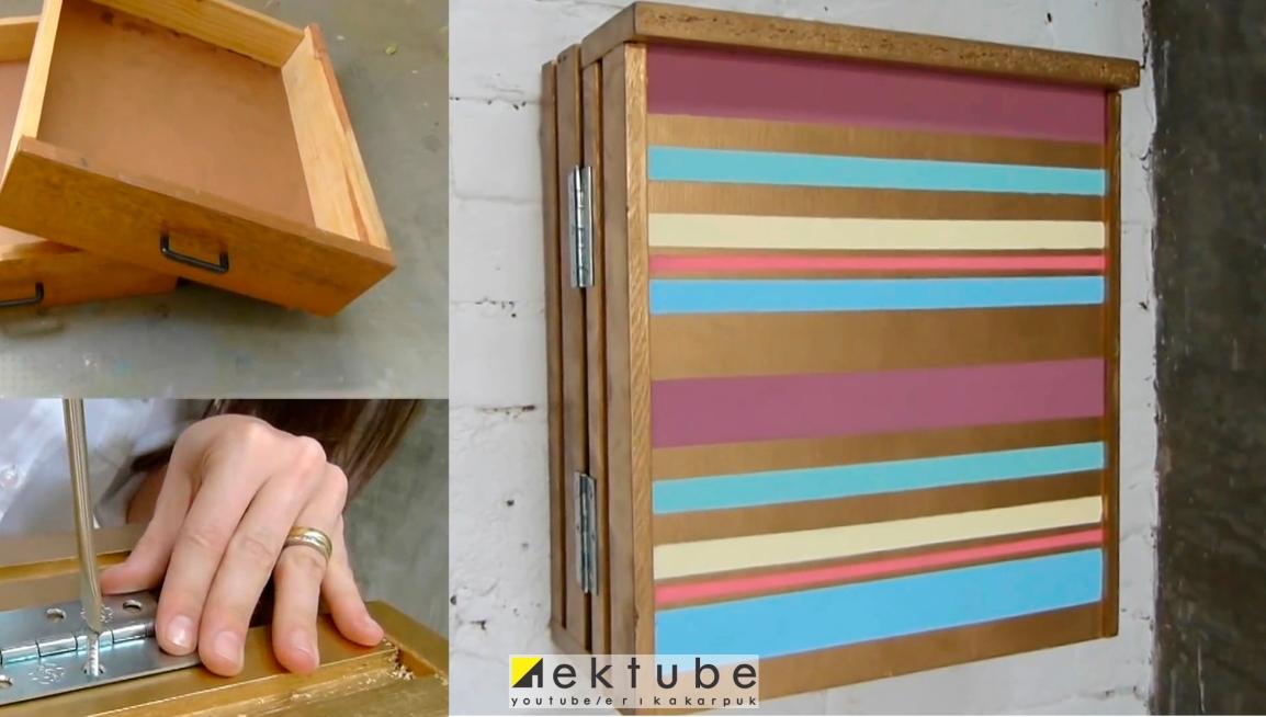 armário com gavetas antigas - EKtube por Erika Karpuk