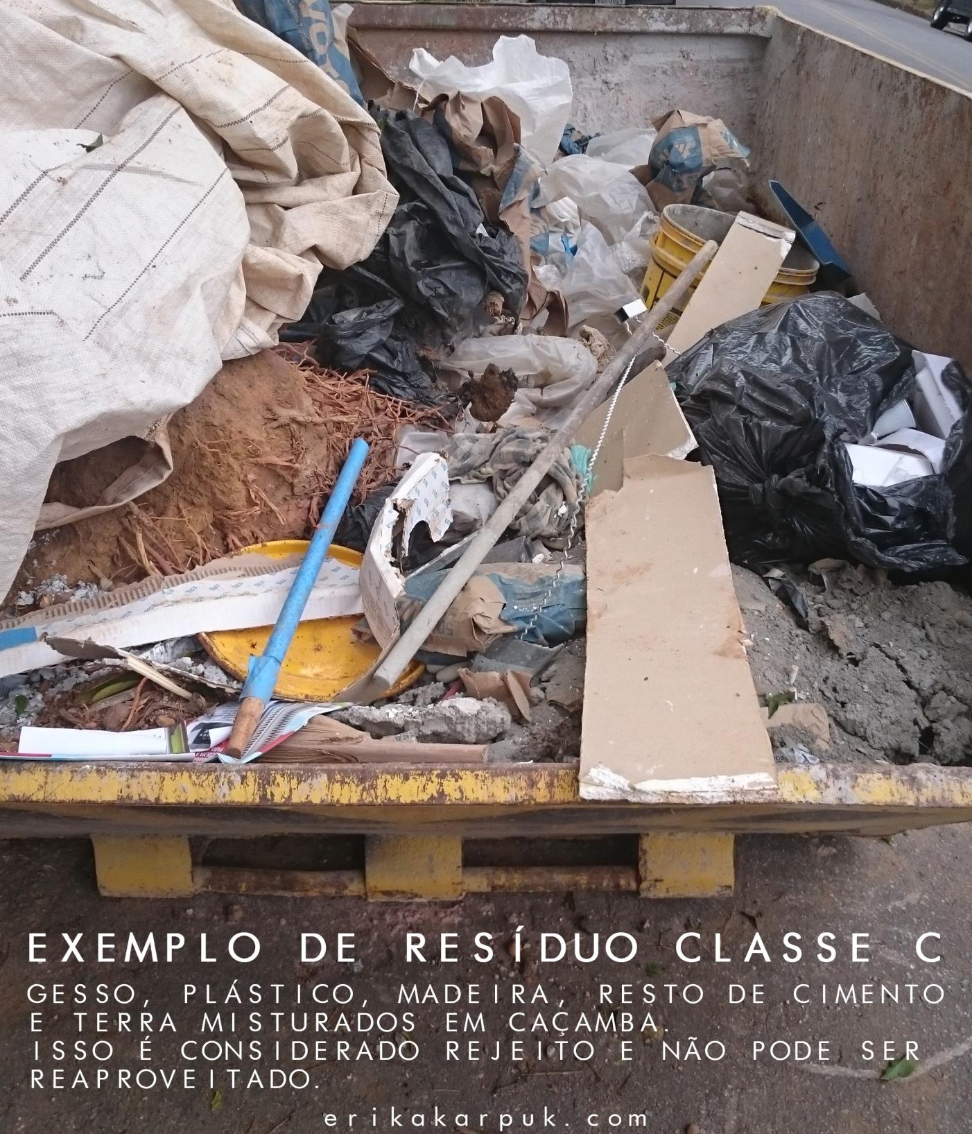 caçamba CLASSE C