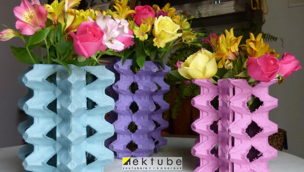 caixas de ovos na decoração - EKtube por Erika Karpuk