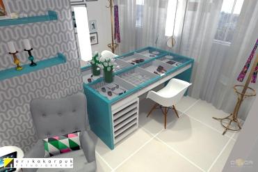 Cor e função com projeto de design do EstúdioDekor em Goiânia. por Erika Karpuk