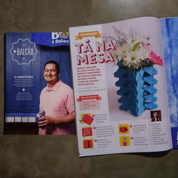 Erika Karpuk para Revista Ambev Editora Trip