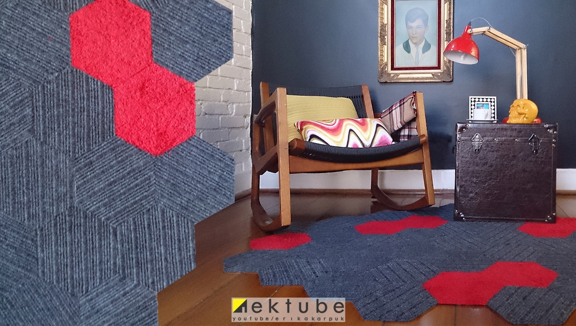 faça um tapete com capacho - EKtube por Erika Karpuk