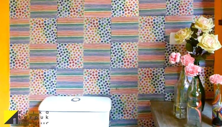 Guardanapo na parede - Erika Karpuk - Ektube