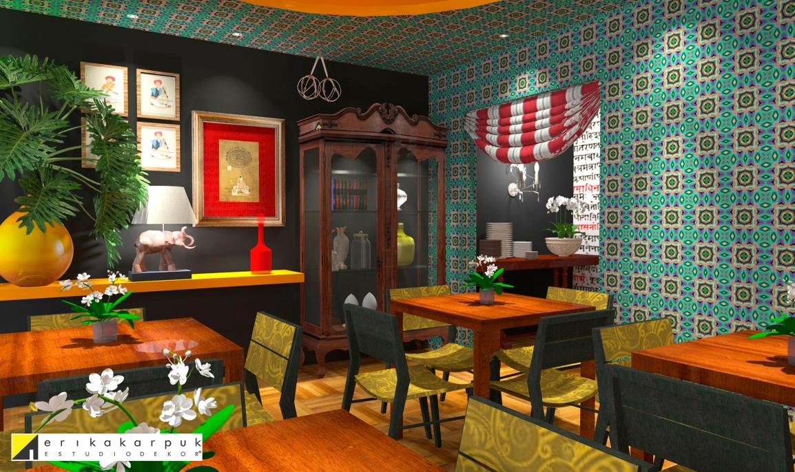 Restaurante Indiano em SP - Projeto Erika Karpuk