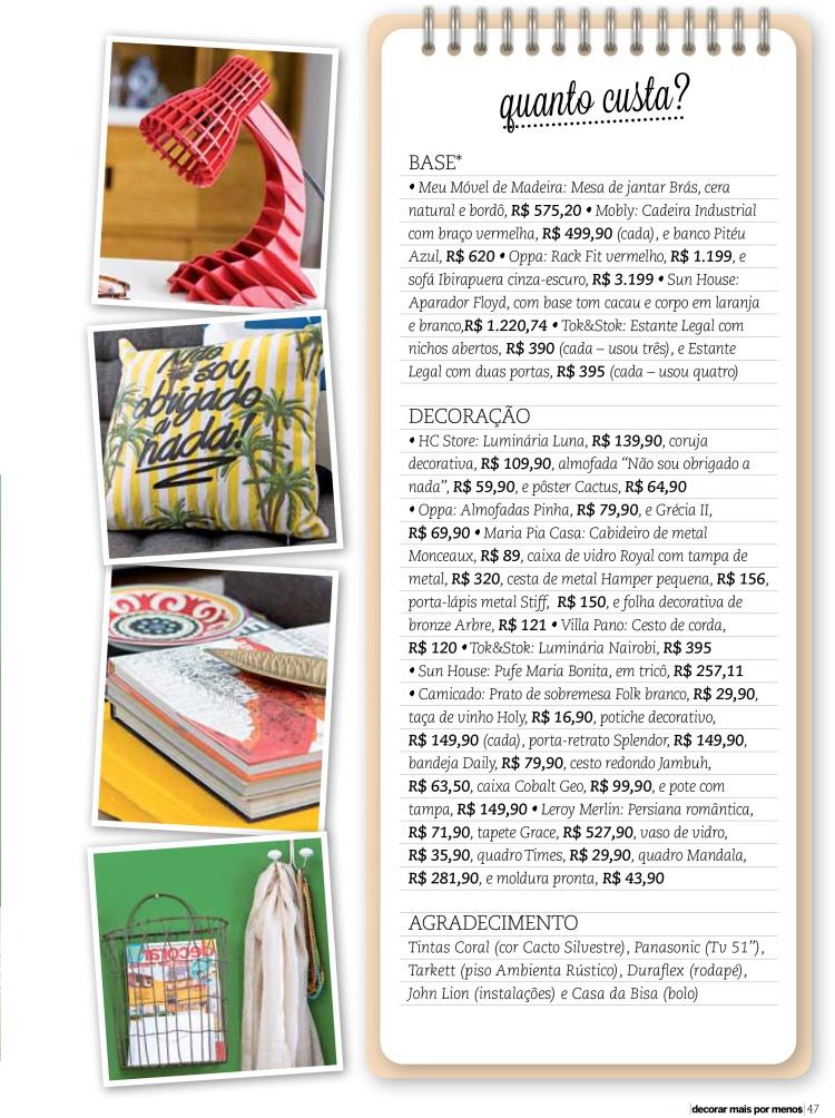 Revista Decorar Mais Por menos - por Erika Karpuk- Edição Especial de aniversário