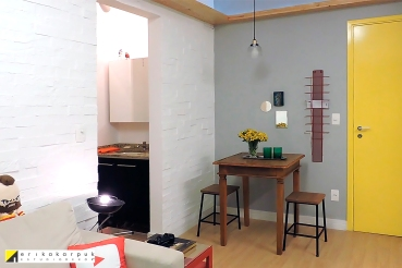 Apartamento do @taviao Projeto Erika Karpuk Serviço: Dekor Express