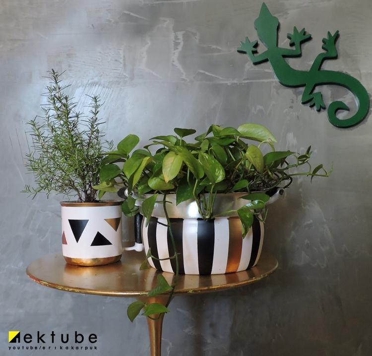 Segundo vídeo da websérie #utensiliosdecozinha. Vaso feito com Panela Velha por Erika Karpuk. https://youtu.be/sES44xgNEY4