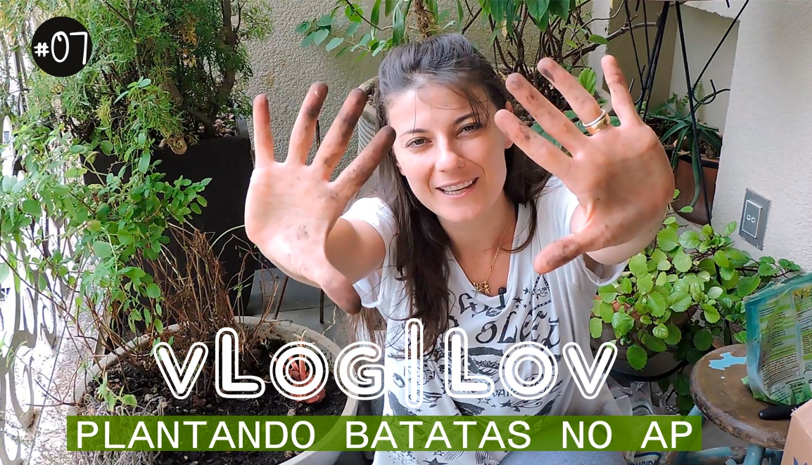 PLANTAR BATATAS NO AP #VIVERSUSTENTÁVEL