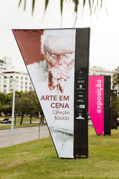 ARTE EM CENA - COLEÇÃO MAXXI