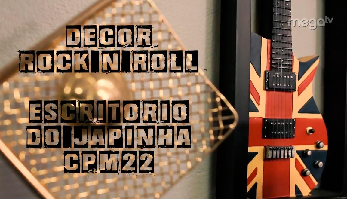 DECORAÇÃO ROCK N'ROLL + JAPINHA DOCPM22