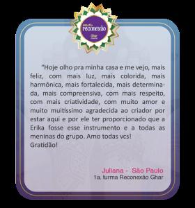 DEPOIMENTOS DAS ALUNAS RECONEXÃO GHAR